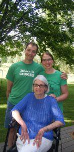 Kate, Jason, Martha at 255 Pearl